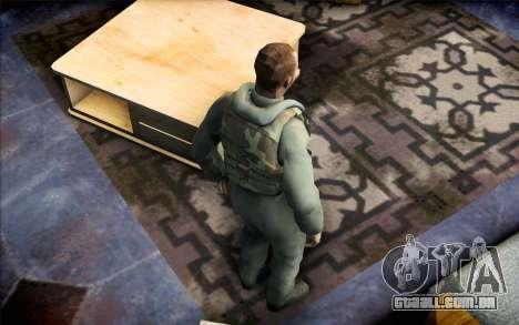 Nicholas de Call of Duty MW2 para GTA San Andreas terceira tela