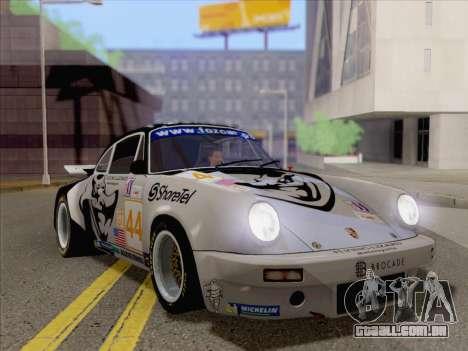 Porsche 911 RSR 3.3 skinpack 2 para GTA San Andreas esquerda vista