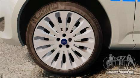 Ford Mondeo Metropolitan Police [ELS] para GTA 4 vista de volta