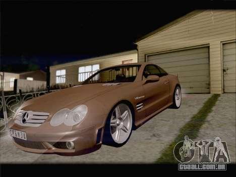 Mercedes SL500 v2 para GTA San Andreas vista interior