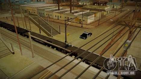 GTA HD Mod 3.0 para GTA San Andreas quinto tela