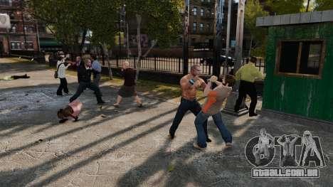 A retirada de armas para GTA 4 segundo screenshot