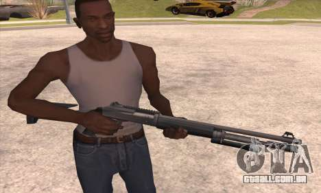 A espingarda do Left 4 Dead 2 para GTA San Andreas terceira tela
