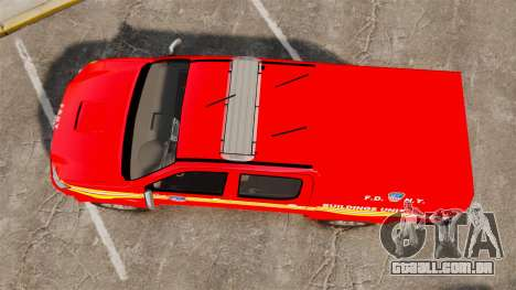 Toyota Hilux FDNY [ELS] para GTA 4 vista direita
