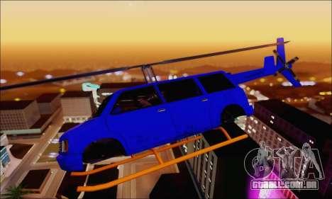 Fun Maverick para GTA San Andreas esquerda vista