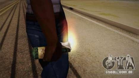 Coquetel Molotov de Max Payne para GTA San Andreas terceira tela