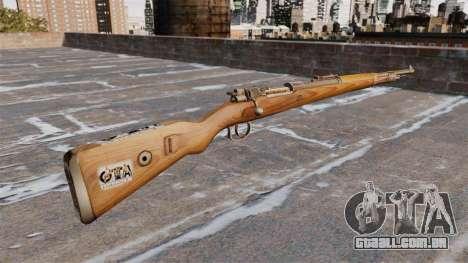 Kar98k Rifle para GTA 4 segundo screenshot