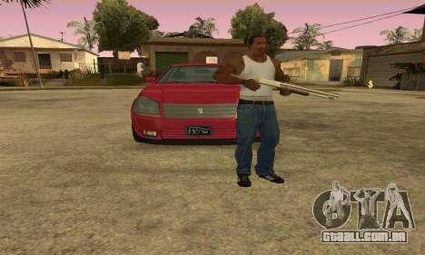 Presidente do GTA IV para GTA San Andreas vista interior