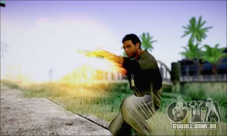 Lamar Davis GTA V para GTA San Andreas por diante tela