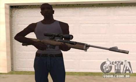 Rifle sniper de Left 4 Dead 2 para GTA San Andreas terceira tela