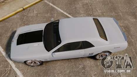GTA V Declasse Gauntlet ZL1 2014 Facelift para GTA 4 vista direita