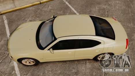 Dodge Charger RT Hemi 2007 para GTA 4 vista direita