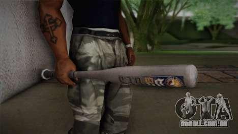 Taco de beisebol de GTA 5 para GTA San Andreas terceira tela