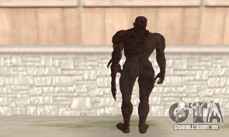 Tyrant T002 para GTA San Andreas segunda tela