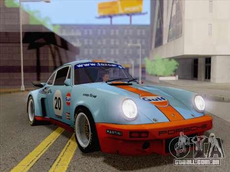 Porsche 911 RSR 3.3 skinpack 2 para GTA San Andreas