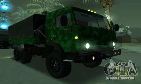 Exército KAMAZ 4310 para GTA San Andreas