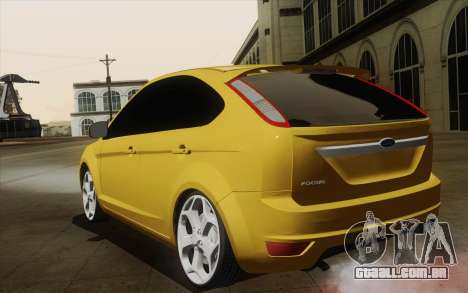Ford Focus 2009 para GTA San Andreas esquerda vista