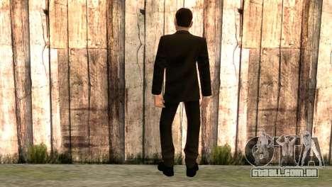 Smith de matrix filme para GTA San Andreas segunda tela