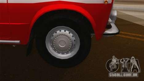 VAZ 21011 protecção contra incêndios para GTA San Andreas vista direita