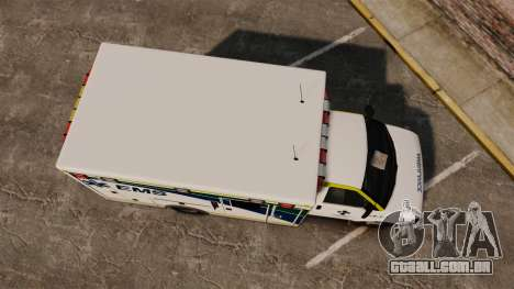 Brute Alberta Health Services Ambulance [ELS] para GTA 4 vista direita