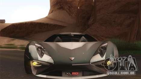 SuperMotoXL CONXERTO v2.0 para GTA San Andreas vista traseira