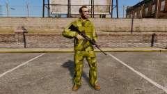 O uniforme de camuflagem sueca