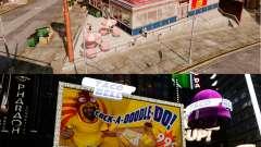 Comer McDonald ' s e Taco Bell para GTA 4