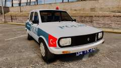 Renault 12 Turkish Police [ELS] para GTA 4