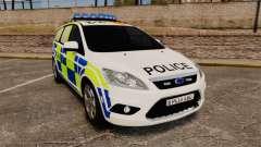 Ford Focus Estate 2009 Police England [ELS]