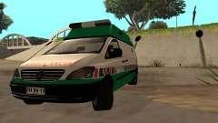 Mercedes-Benz Vito Ambulancia ACHS 2012