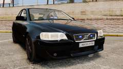 Volvo S60R Unmarked Police [ELS]