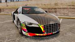 Audi R8 GT Coupe 2011 Drift