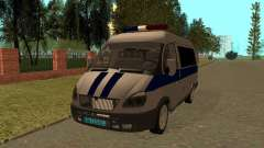 GÁS polícia Sable