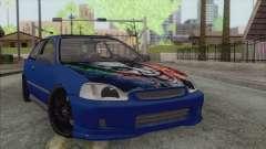 Honda Civic Tuning para GTA San Andreas