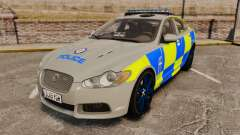 Jaguar XFR 2010 West Midlands Police [ELS]