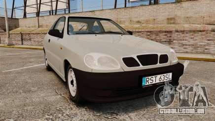 Daewoo Lanos S PL 1997 para GTA 4