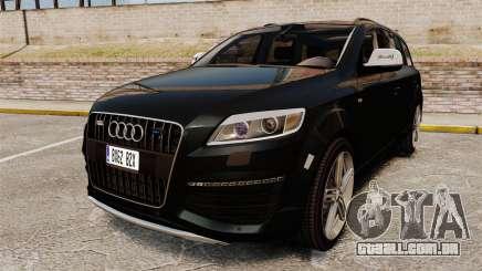 Audi Q7 Unmarked Police [ELS] para GTA 4