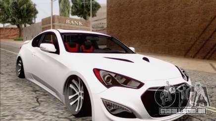 Hyundai Genesis Stance para GTA San Andreas