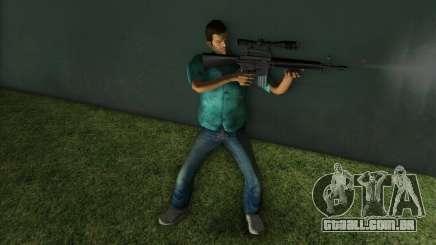 M-16 com uma arma de Sniper para GTA Vice City