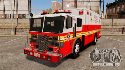 Hazmat Truck FDLC [ELS] para GTA 4