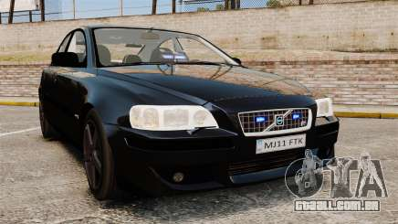 Volvo S60R Unmarked Police [ELS] para GTA 4