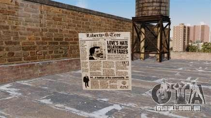Coquetel Molotov-jornal - para GTA 4
