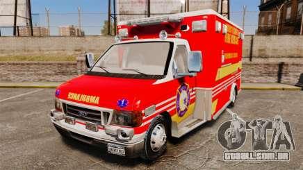 Ford E-350 LCFR [ELS] para GTA 4