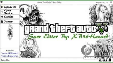 Grand Theft Auto V Save Editor v.2.0.1.0 para GTA 5