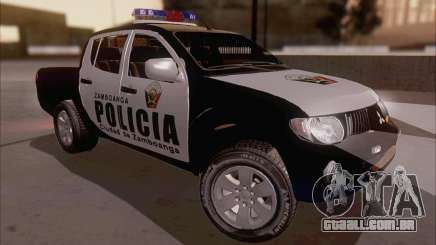 Mitsubishi L200 POLICIA para GTA San Andreas