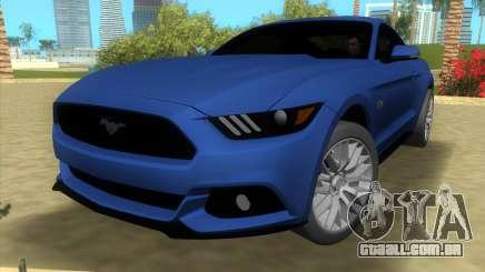 Ford Mustang GT 2015 para GTA Vice City