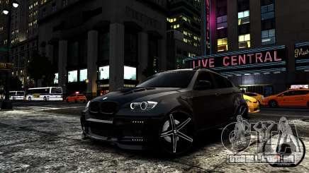 BMW X6 M Hamann 2013 Vossen para GTA 4