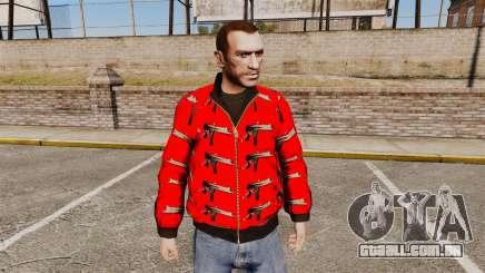 Blusão-Uzi - para GTA 4