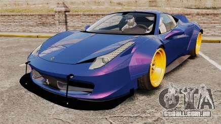 Ferrari 458 Italia Liberty Walk para GTA 4