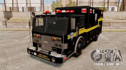 Hazmat Truck NLSP Emergency Operations [ELS] para GTA 4